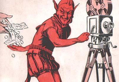 Devils Camera Symbolic Image