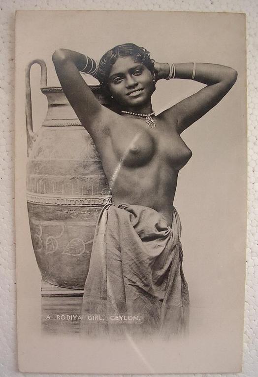 A Rodiya Girl - Ceylon (Sri Lanka)